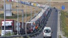 МВР зове водачите и фирмите сами да организират спирането на тирове по празници