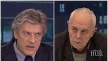 ИСКРИ В ЕФИР: Антоний Гълъбов и Андрей Райчев в горещ спор заради Нинова, излизането й от парламента и заплахата от манипулиране на евроизборите