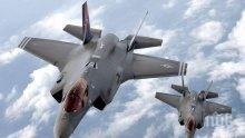 """Военноморските сили на САЩ качиха на палубите Ф-35 тип """"Стелт"""""""