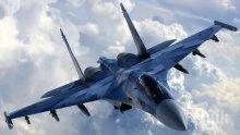 Руски изтребител Су-27 е прихванал американски разузнавателен самолет над Балтика