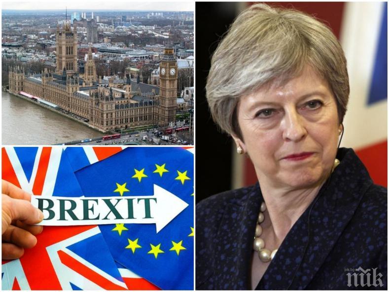 Парламентите на Шотландия и Уелс гласуваха срещу сделката на Тереза Мей за Брекзит