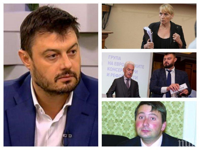 САМО В ПИК TV: Николай Бареков с нови разкрития за аферите около Елена Йончева - защо прокуратурата не е наредила на НАП проверка на имотите й и парите й (ОБНОВЕНА)