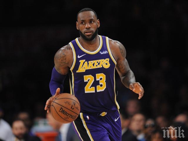 Леброн Джеймс изпревари Майкъл Джордан по точки в НБА
