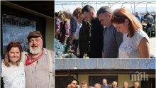 ПЪРВО В ПИК: Ловната дружинка на Ласкин го почете на рождения му ден - Александра Сърчаджиева сведе глава с аверите му (СНИМКИ)