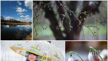 ВРЕМЕТО СЕ ПРОМЕНЯ: Облаци и дъжд през първия почивен ден. Ето къде ще вали (КАРТА)