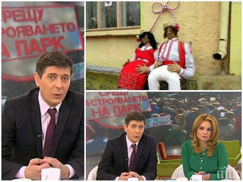 Виктор Николаев се изпусна в ефир, водещият псува като каруцар