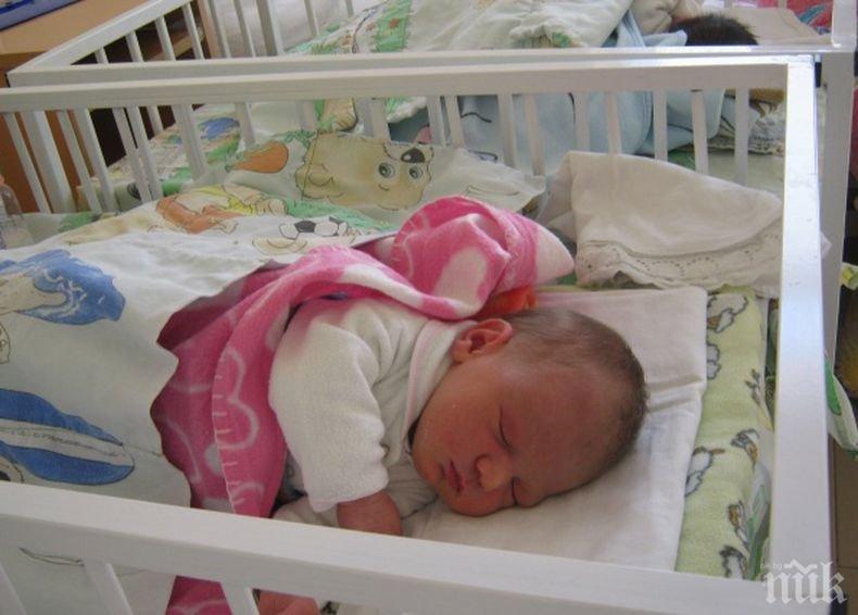 Гигант: В Скопие се роди бебе с тегло 5,7 кг