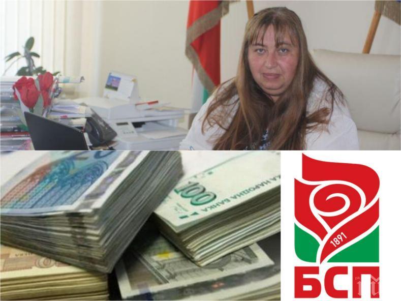 ПЪРВО В ПИК: Прокуратурата с обвинение към кмета на Златица от БСП - Магдалена Иванова присвоила над 1 милион лева!
