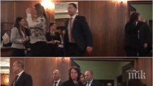 САМО В ПИК TV: Охранители тичат по Деси Радева в Софийската опера - вардят я в тоалетната (ЕКСКЛУЗИВНИ КАДРИ)
