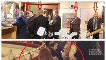 ВИП дамата Деси Радева: Четирима охранители я пазят в тоалетната - вижте УНИКАЛНОТО ВИДЕО, което НСО скандално изтри от телефона на журналист