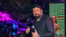 """Тони Стораро с охрана в """"Клуб 33"""" (СНИМКИ)"""