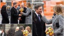 СТАНАХМЕ ЗА СМЯХ: Президентът на Словения пусна викторина за грандиозния гаф на Деси Радева: Какво ми направи съпругата на българския президент (ВИДЕО)