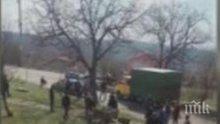 Полицията разследва жесток побой над коне