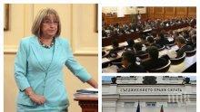 ИЗВЪНРЕДНО В ПИК TV: Депутатите разпитват Цецка Цачева за условията в затворите (ОБНОВЕНА)