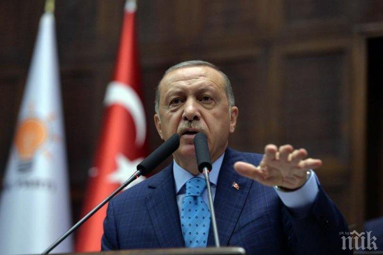 Ердоган прокле нападателите на джамиите в Нова Зеландия
