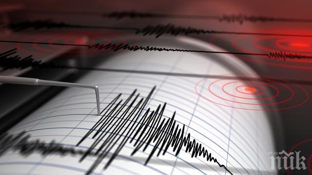 Земетресение с магнитуд 2.5 по Рихтер е регистрирано край Девин