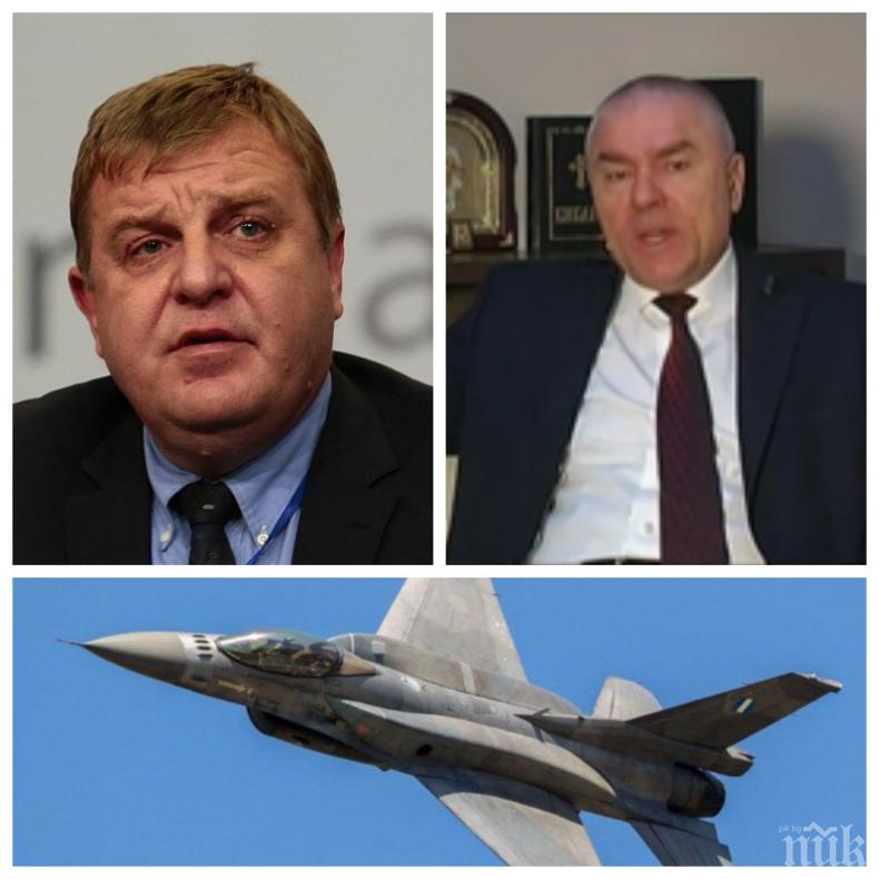 """ЕКСКЛУЗИВНО: Марешки с жесток удар по Патриотите! Лидерът на """"Воля"""" обяви сделката за новите изтребители за най-големия грабеж в историята на България"""