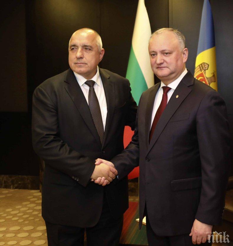 ПЪРВО В ПИК: Борисов на важен разговор с президента на Молдова