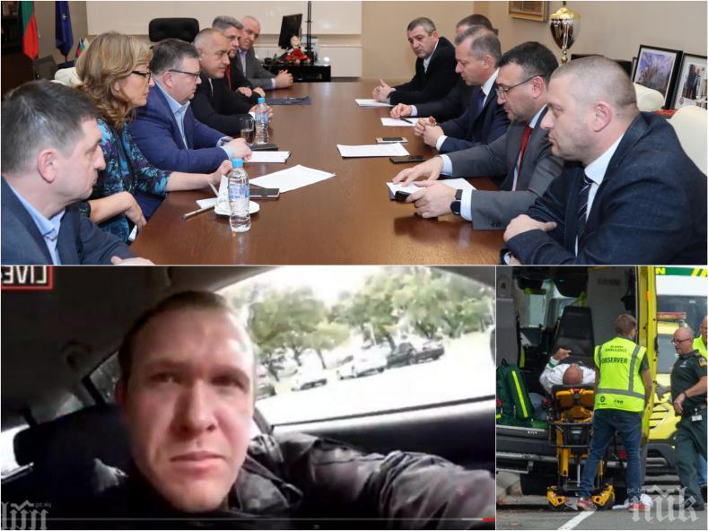 ПЪРВО В ПИК TV! Сотир Цацаров: Терористът от Нова Зеландия е бил в България от 9 до 15 ноември миналата година, посещавал е исторически места (ОБНОВЕНА)