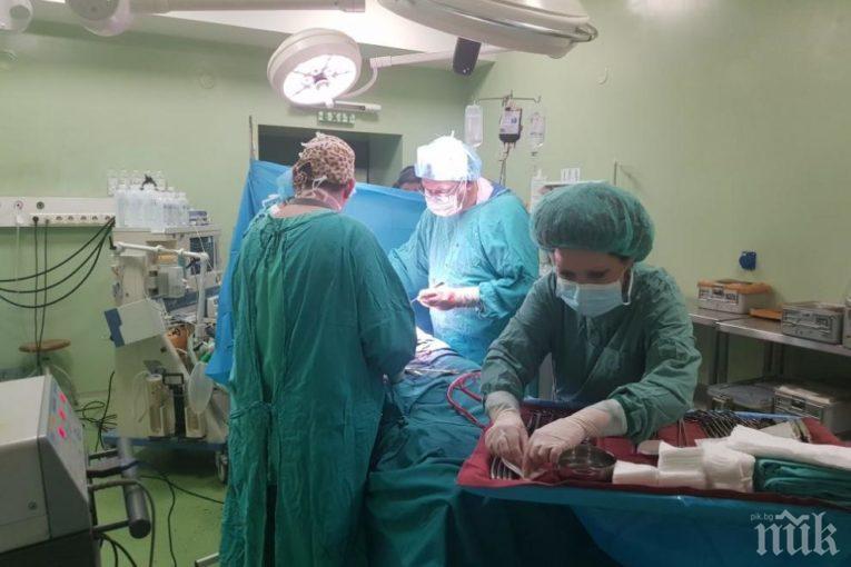"""ЧУДО: Лекари от """"Пирогов"""" и """"Майчин дом"""" спасиха бременна и бебето й на 28 седмици след тежка катастрофа (СНИМКИ)"""
