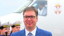Президентът на Сърбия обеща да накаже участниците в безредиците в Белград