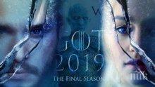 """Разкриха подробности около последния сезон на """"Игра на тронове"""""""