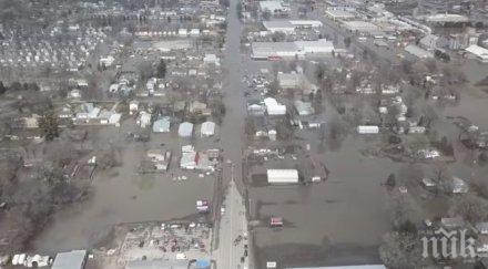 БЕДСТВИЕ: Небраска е под вода, Мисури преля (ВИДЕО)