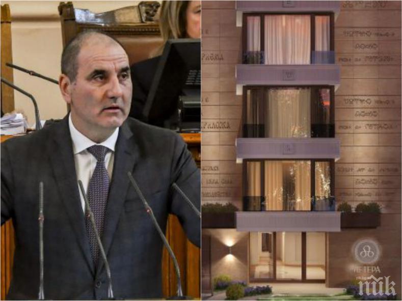 ИЗВЪНРЕДНО В ПИК TV: Цветан Цветанов проговори за новия си апартамент с асансьор (СНИМКИ)