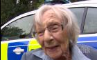 """Арестуваха 104-годишна британка, искала да види как е от """"тъмната страна"""""""