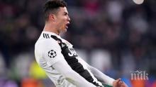 УЕФА взе решение по казуса с Роналдо