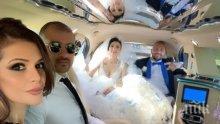 ПИЩЕН КУПОН: Софи Маринова блесна в синьо на сватбата с Гринго (ВИДЕО/СНИМКИ)