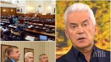 ЕКСКЛУЗИВНО В ПИК TV: Волен Сидеров коментира скандалите с апартаментите на Цветанов и Цецка Цачева! Чака Симеонов да се разберат като мъже за евроизборите