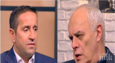 ИСКРИ В ЕФИР: Георги Харизанов и Андрей Райчев заформиха лют скандал заради евтините апартаменти на властта и опозицията