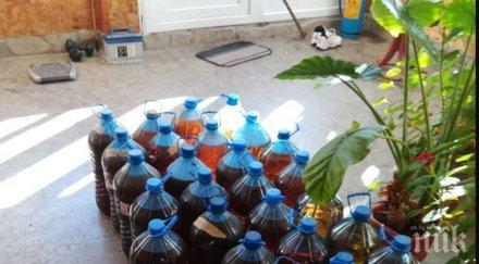 Спипаха половин тон алкохол в туристическа база във Варна (СНИМКИ)