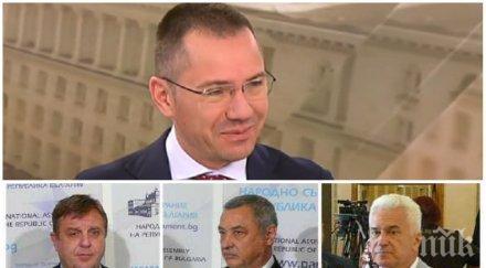 ГОРЕЩА ТЕМА: Ангел Джамбазки изплю камъчето - заедно ли ще са Патриотите на изборите