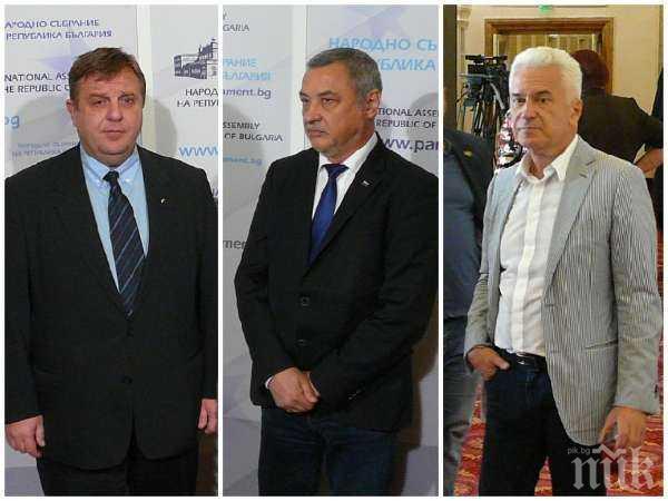 """САМО В ПИК: Валери Симеонов хвърли бомбата - """"Обединени патриоти"""" стават """"Разединени патриоти"""" за европейските избори"""