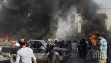 """""""Амнести Интернешънъл"""" разкритикува режима в Сирия заради удари по училище и болници в Идлиб"""