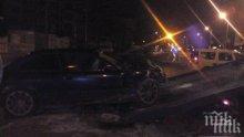 Двама са с риск за живота след автомеле във Варна