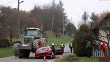 КУРБАН: Дядо загина след тежка катастрофа - трактор нацели колата му