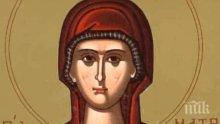 СИЛНА ВЯРА: С кротост да дадеш живота си за Христос - света Матрона Солунска