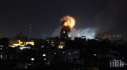 отново напрежение армията израел обявиха около ракети изстреляни ивицата газа