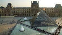 Лувърът е най-посещаваният музей в света