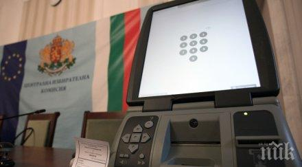 ЦИК обявява обществена поръчка за машинното гласуване