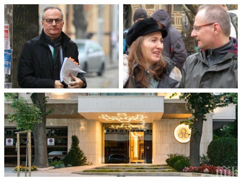 """САМО В ПИК TV! ВСС чака оставка от Лозан Панов след """"Кумгейт"""" и евтиния апартамент от боса на """"Артекс"""" - шефът на ВКС мълчи позорно пред камерата ни (ОБНОВЕНА)"""