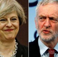 Лидерът на Лейбъристката партия не успя да постигне съгласие с Тереза Мей за нов референдум за Брекзит