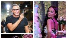 Стефано Габана рекламира Николета - ето какво направи италианският моден гуру за плеймейтката... (СНИМКА)