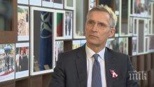 Генералният секретар на НАТО с предупреждение за заплаха от Русия