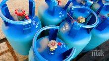 Паника във Вършец: Камион разпиля бутилки с газ метан