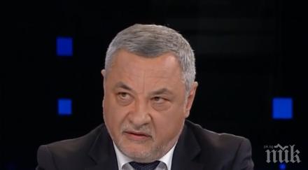 Валери Симеонов намекна за излизане на НФСБ от патриотичната коалиция
