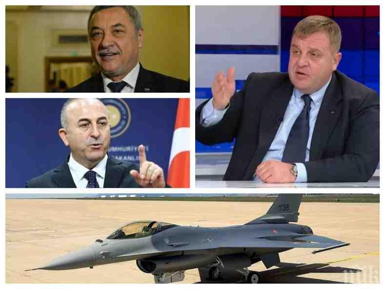 ИЗВЪНРЕДНО! Каракачанов с горещ коментар за разрива при патриотите за евровота, покупката на Ф-16 и драмата с Турция